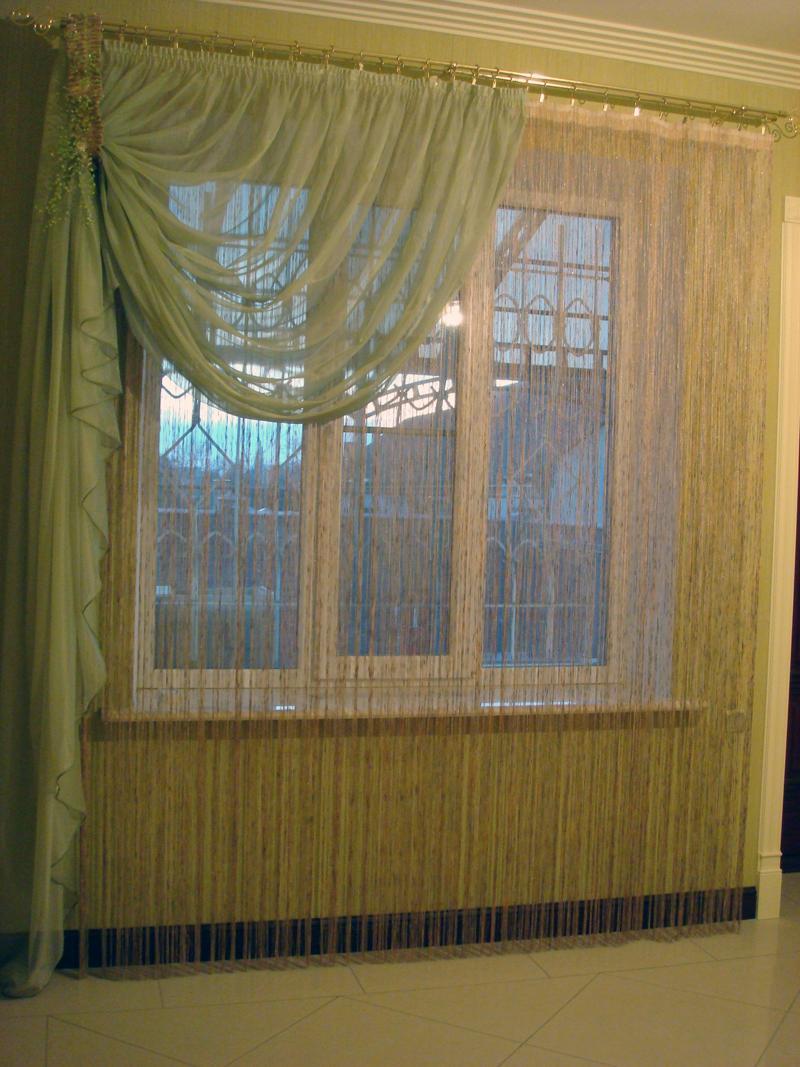 Фото штор своими руками недорого